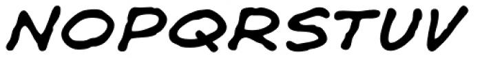 Shaky Kane Italic Font LOWERCASE