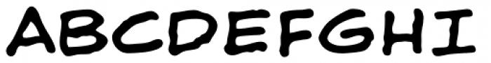 Shaky Kane Regular Font UPPERCASE