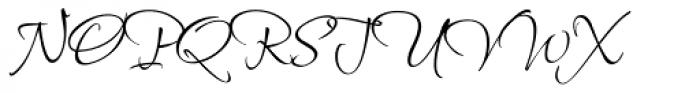 Shalimar ROB Swash Font UPPERCASE