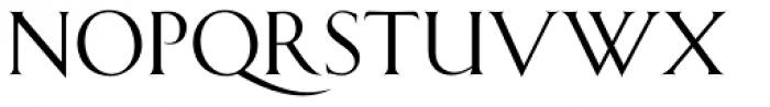 Shango Medium Font LOWERCASE