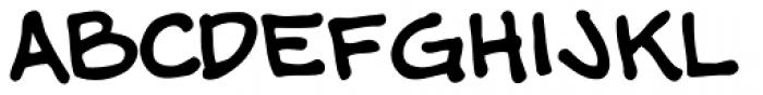 Shannon Wheeler Font LOWERCASE
