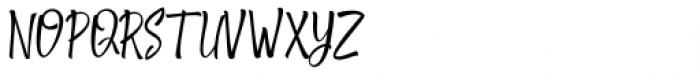 Shantika Script Regular Font UPPERCASE