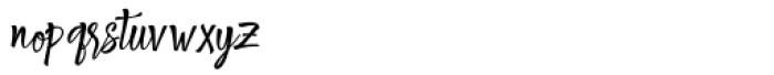Shantika Script Regular Font LOWERCASE