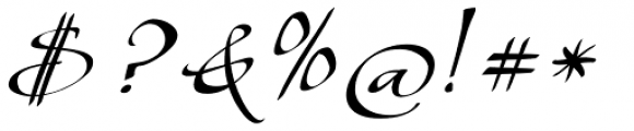 Shapely Font OTHER CHARS