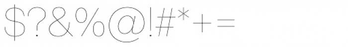 Shapiro 5 Light Fly Font OTHER CHARS