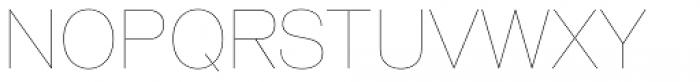 Shapiro 5 Light Fly Font UPPERCASE