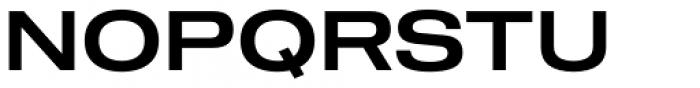 Shapiro 55 Middle Extd Font UPPERCASE