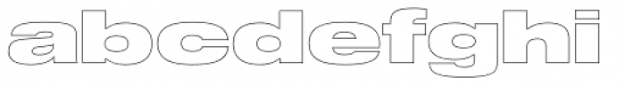 Shapiro 97 Air Extd Font LOWERCASE