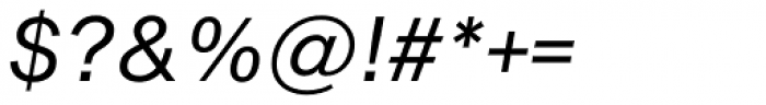 Shapiro Pro 434 Italic Font OTHER CHARS