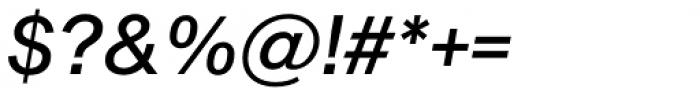 Shapiro Pro 446 Italic Font OTHER CHARS
