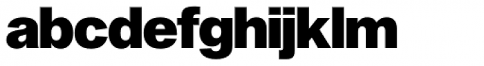 Shapiro Pro 497 All Black Font LOWERCASE