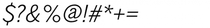 Shapiro Pro 524 Italic Font OTHER CHARS