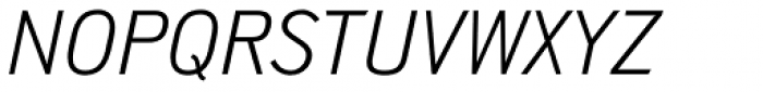 Shapiro Pro 524 Italic Font UPPERCASE