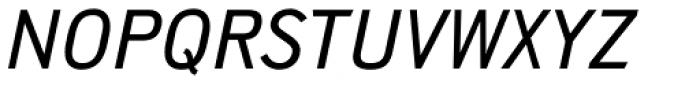 Shapiro Pro 544 Italic Font UPPERCASE