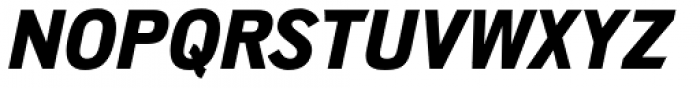 Shapiro Pro 574 Italic Font UPPERCASE