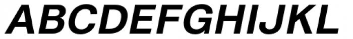 Shapiro Pro 65 Italic Font UPPERCASE
