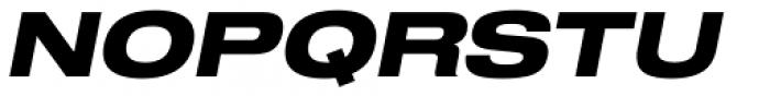 Shapiro Pro 79 Italic Font UPPERCASE