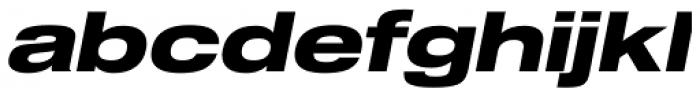 Shapiro Pro 79 Italic Font LOWERCASE