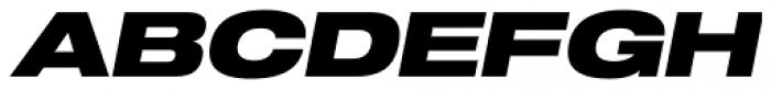 Shapiro Pro 89 Italic Font UPPERCASE