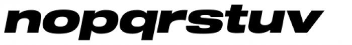 Shapiro Pro 89 Italic Font LOWERCASE