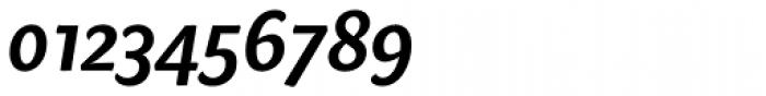 Sharik Sans SemiBold Italic Font OTHER CHARS