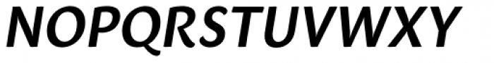 Sharik Sans SemiBold Italic Font UPPERCASE