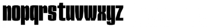 Sharka 04 Condensed Font LOWERCASE