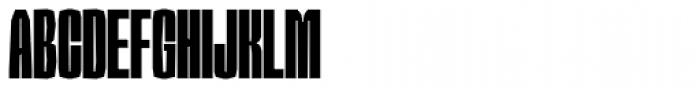 Sharka 06 Compressed Font UPPERCASE