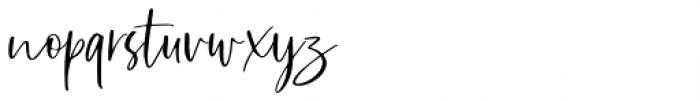 Sharon Baker Regular Font LOWERCASE