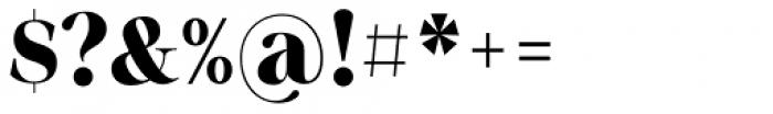 Sharpe Black Font OTHER CHARS
