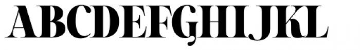 Sharpe Black Font UPPERCASE