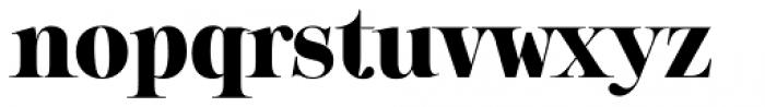 Sharpe Black Font LOWERCASE