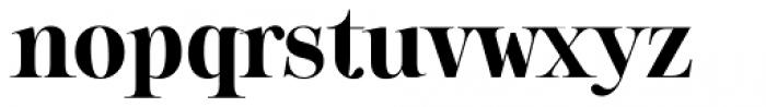 Sharpe Bold Font LOWERCASE