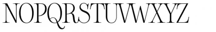 Sharpe Thin Font UPPERCASE