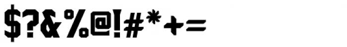 Sharplion Black Font OTHER CHARS