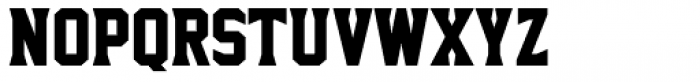 Sharplion Black Font UPPERCASE