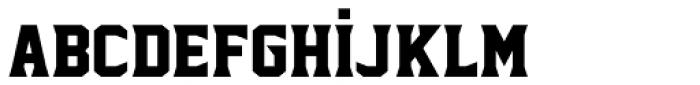 Sharplion Black Font LOWERCASE