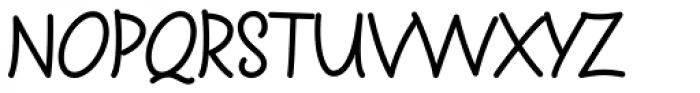 Sharpy Font UPPERCASE