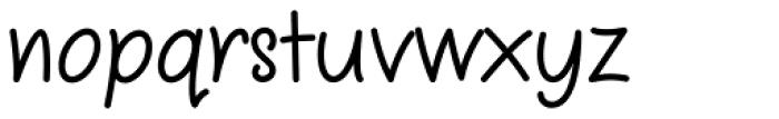 Sharpy Font LOWERCASE