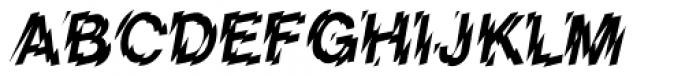Shatter Font UPPERCASE