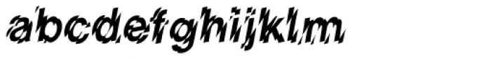 Shatter Font LOWERCASE
