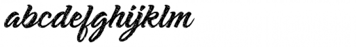 Shavano Rough Font LOWERCASE