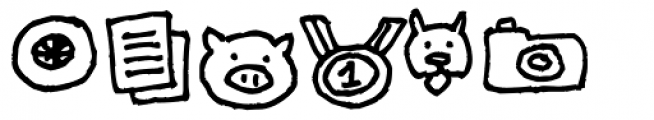 Sheepdog Dingbats Font OTHER CHARS