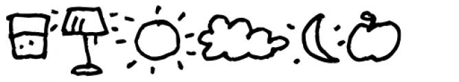 Sheepdog Dingbats Font UPPERCASE
