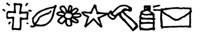 Sheepdog Dingbats Font LOWERCASE