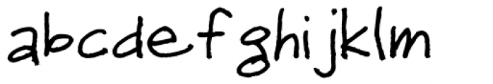 Sheepdog Font LOWERCASE