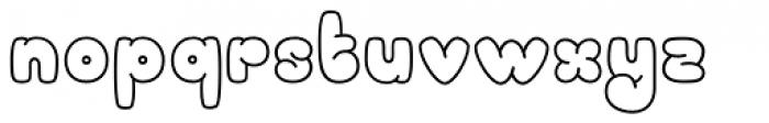 Sheepish Font LOWERCASE