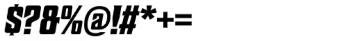 Sheepman Bold Slanted Font OTHER CHARS