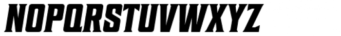 Sheepman Bold Slanted Font UPPERCASE