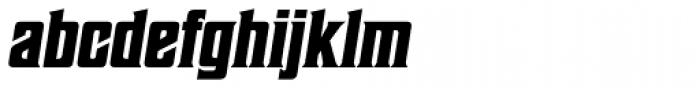 Sheepman Bold Slanted Font LOWERCASE